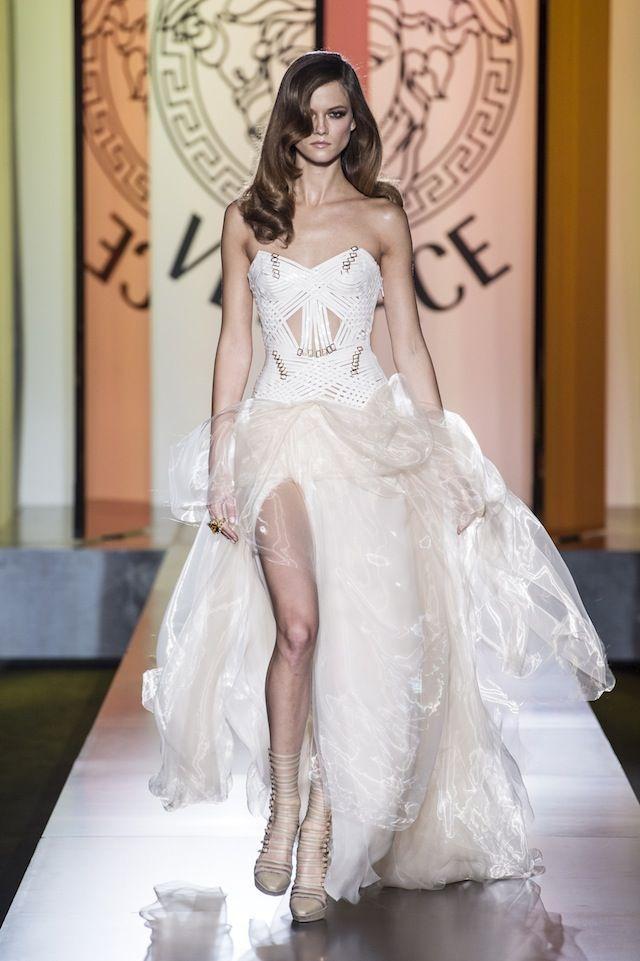 Модные рассуждения: возвращение versace в мир haute couture