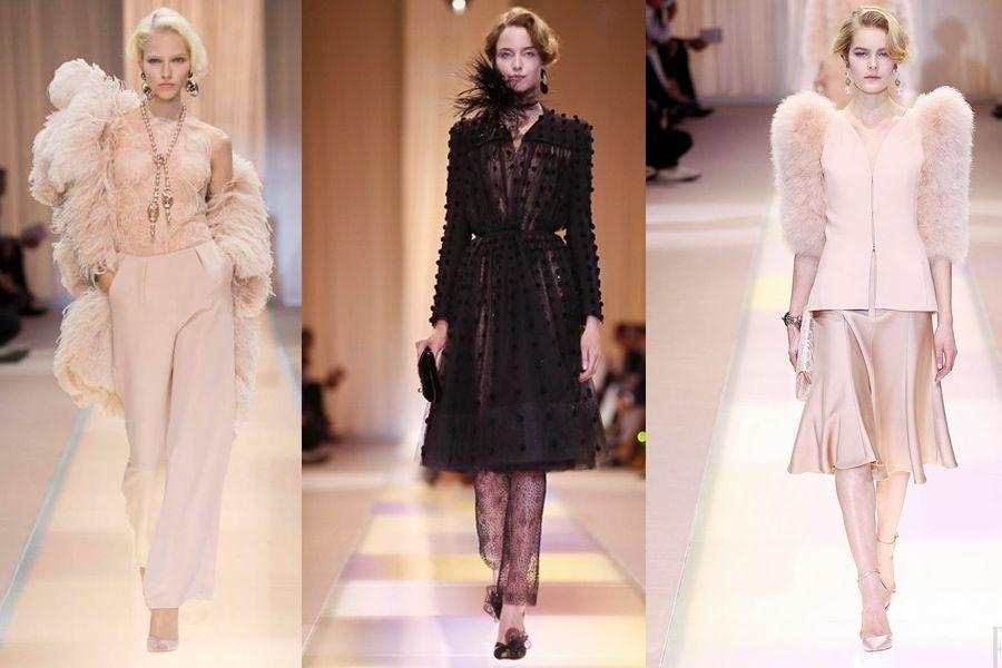 ARMANI PRIVE' Haute Couture fall winter 2013 2014