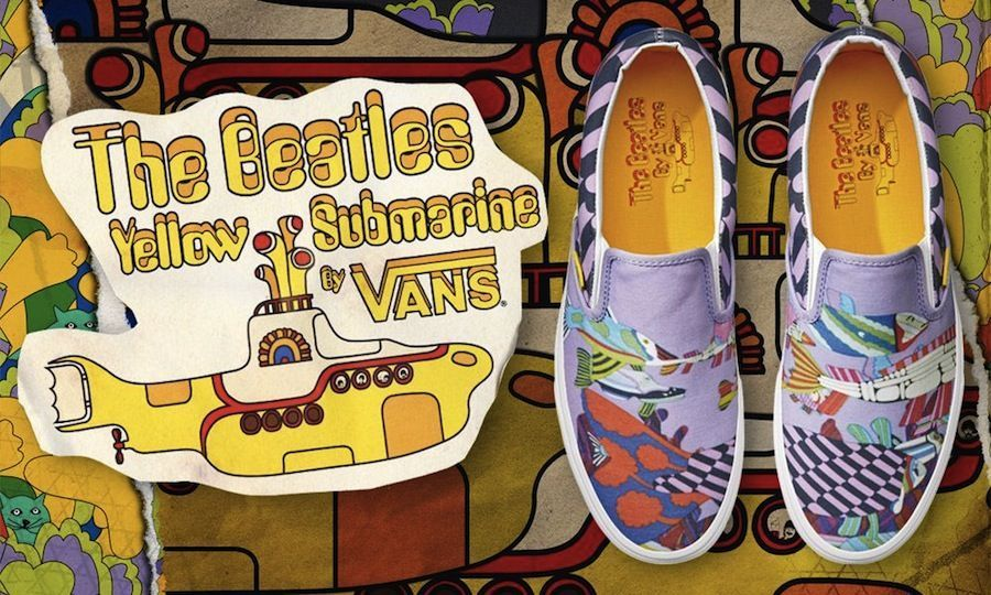Yellow Submarine Converse Shoes