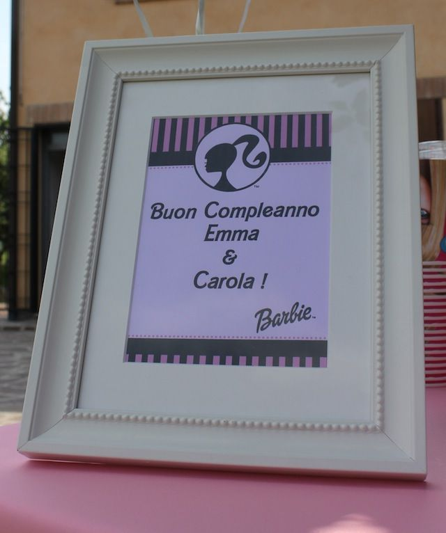 BUFFET A TEMA BARBIE