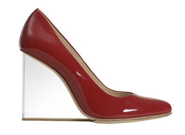 MARGIELA FOR H&M scarpa donna tacco plexiglas