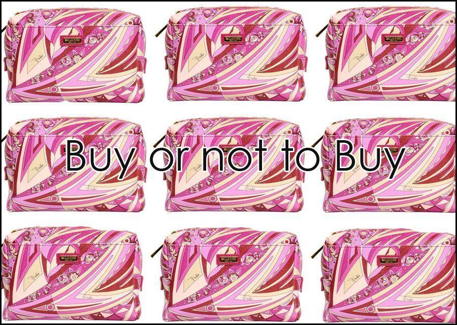 Emilio Pucci make-up bag