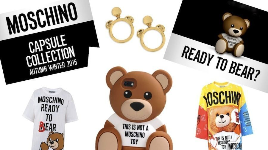 Moschino Ready to Bear collection