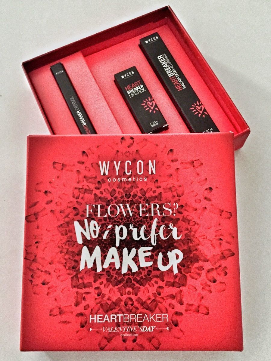 Flowers? No I prefer Make up – Wycon limited edition