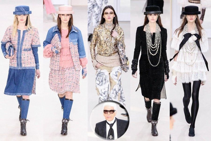 CHANEL READY TO WEAR FALL WINTER 2016 2017