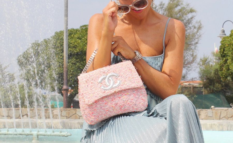 CHANEL PINK BAGS